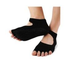 Fekete jóga zokni