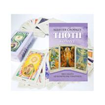 Aleister Crowley Thoth Tarot kártya + könyv