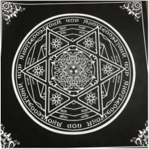 Mágikus hexagram terítő