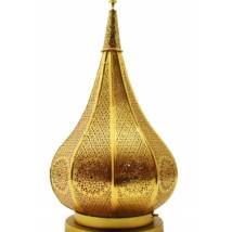 Kais marokkói asztali lámpa arany színű