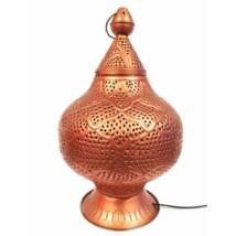 Zumurrud marokkói asztali lámpa