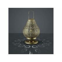 Jázmin marokkói asztali lámpa arany színű
