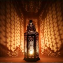 Yagmur marokkói asztali lámpa