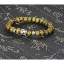 Buddha fejes mala karkötő