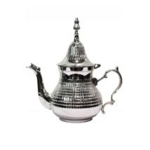Elihan marokkói teakiöntő ezüst  1200 ml