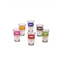 Gibril marokkói tea pohár többszínű
