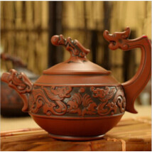 Yixing vörös teáskanna