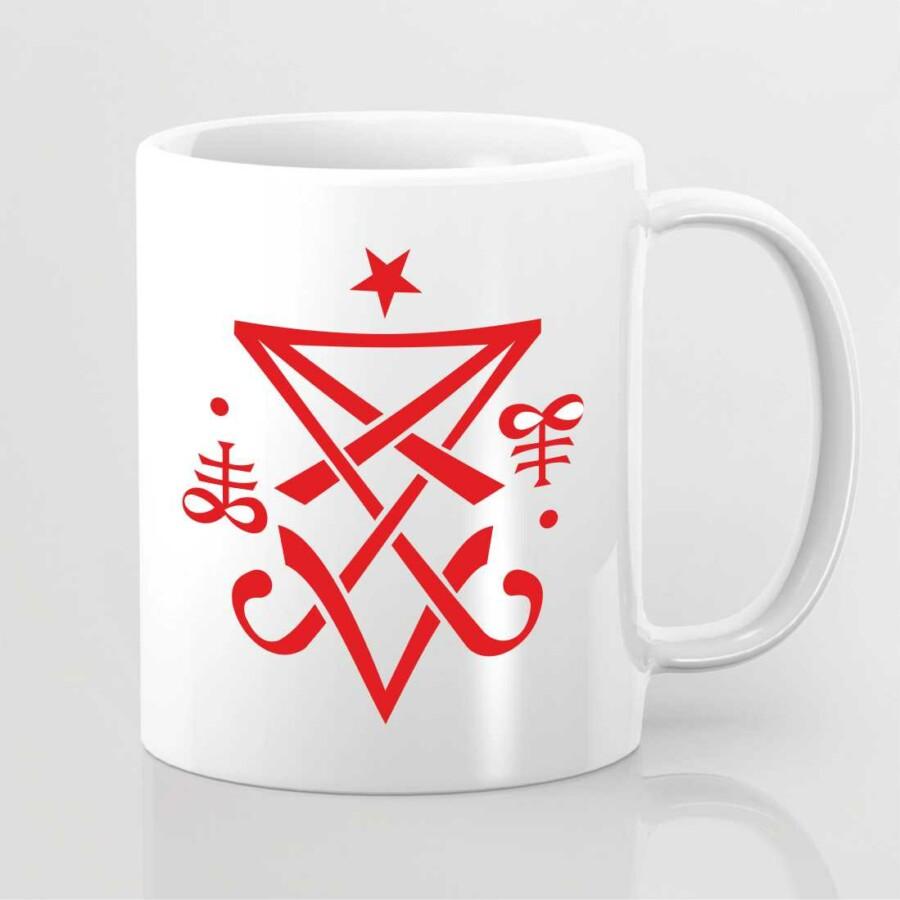 Ezoterikus szimbólummal ellátott bögre 9