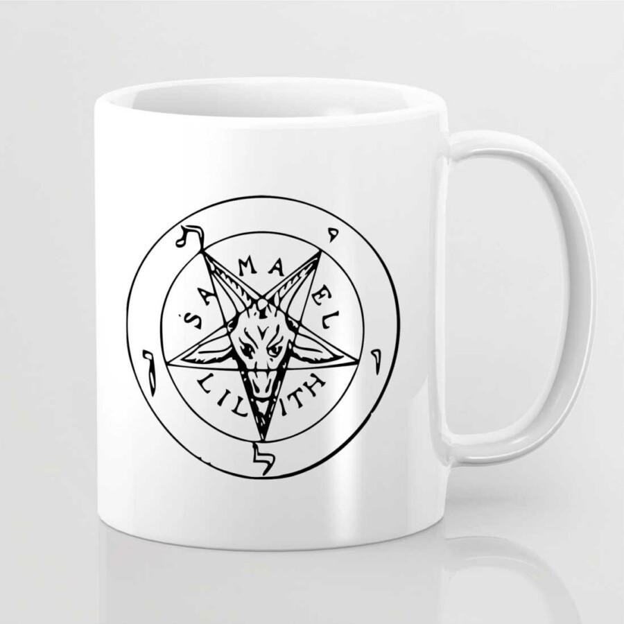 Ezoterikus szimbólummal ellátott bögre 10