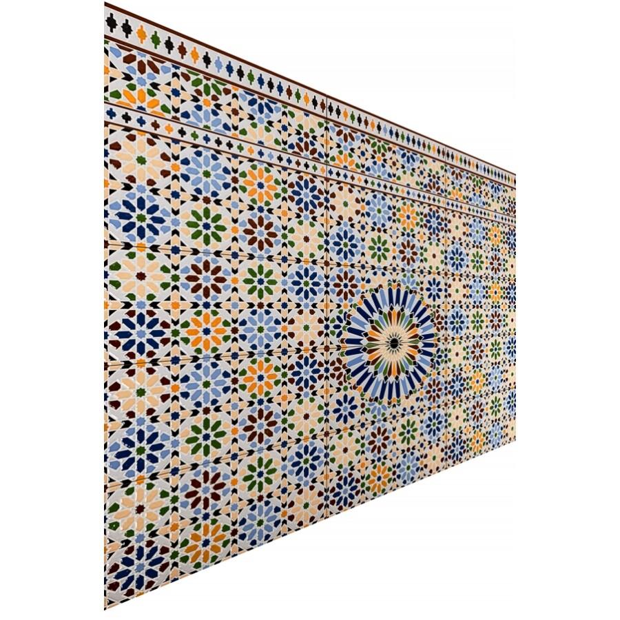 Damaskus 7 marokkói keleti csempe 1m2