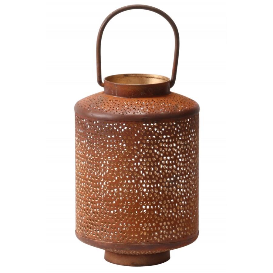 Almas marokkói gyertya és mécsetartó