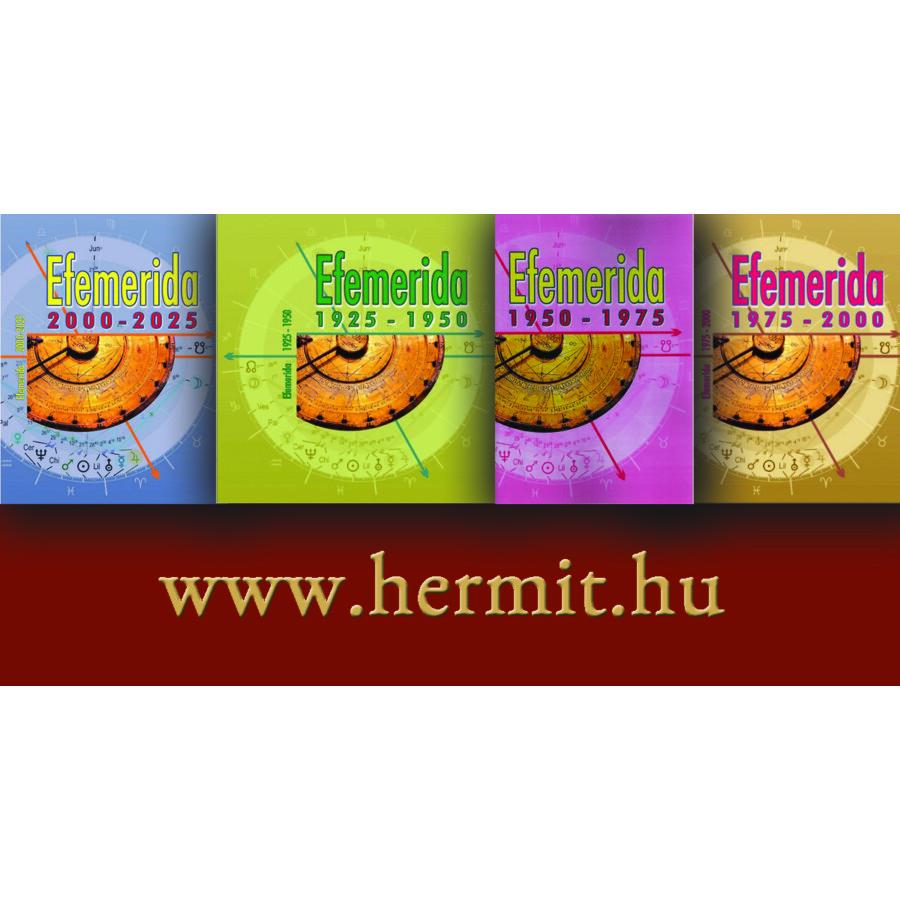 Efemerida 4 kötetben