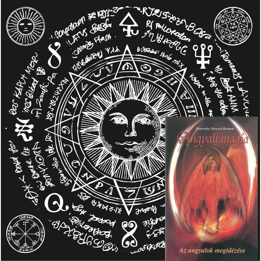 Angyali mágia könyv jósterítővel