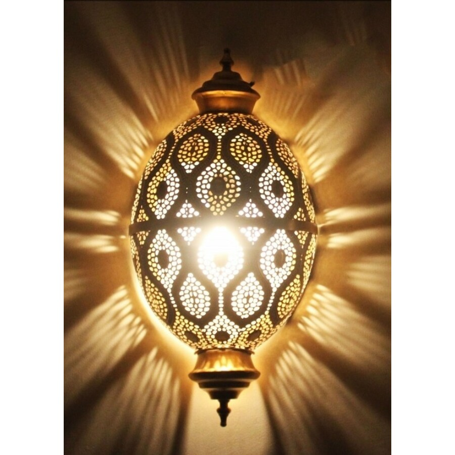 Afzal marokkói fali lámpa