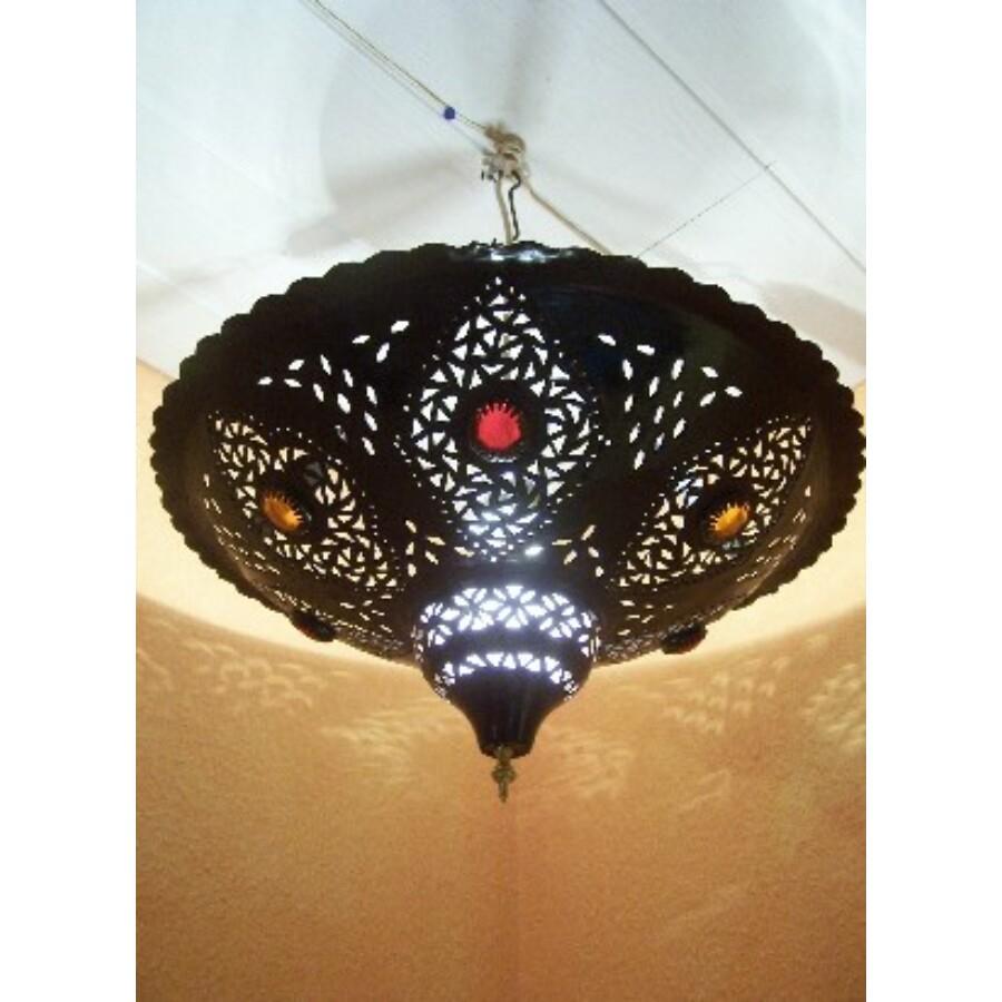 Anbar marokkói mennyezeti lámpa