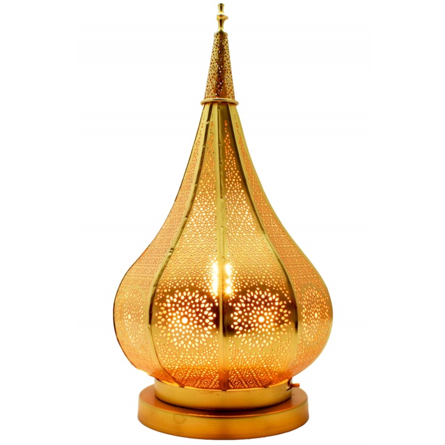Ezana gyertya és mécsestartó arany