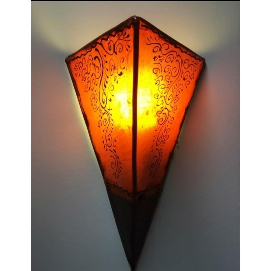 Eshe marokkói fali henna lámpa