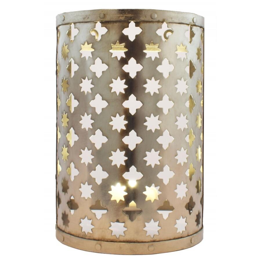Hafssa fali lámpa ezüst