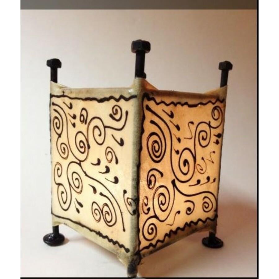 Budu marokkói asztali henna lámpa