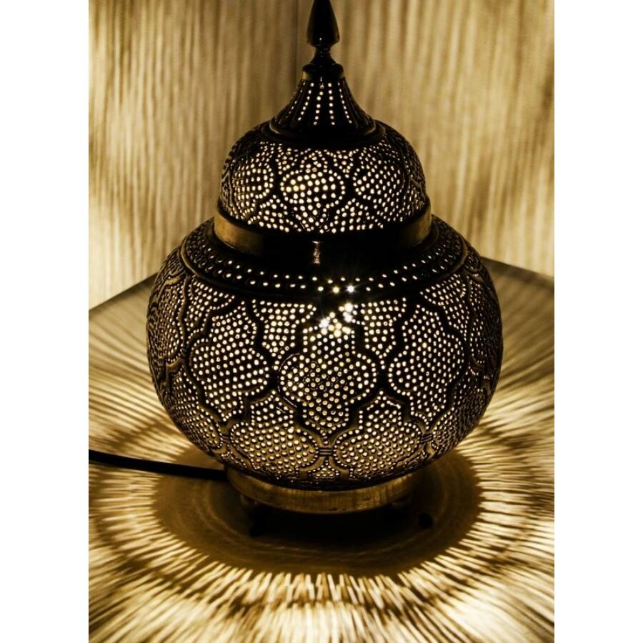 Huriye marokkói asztali lámpa