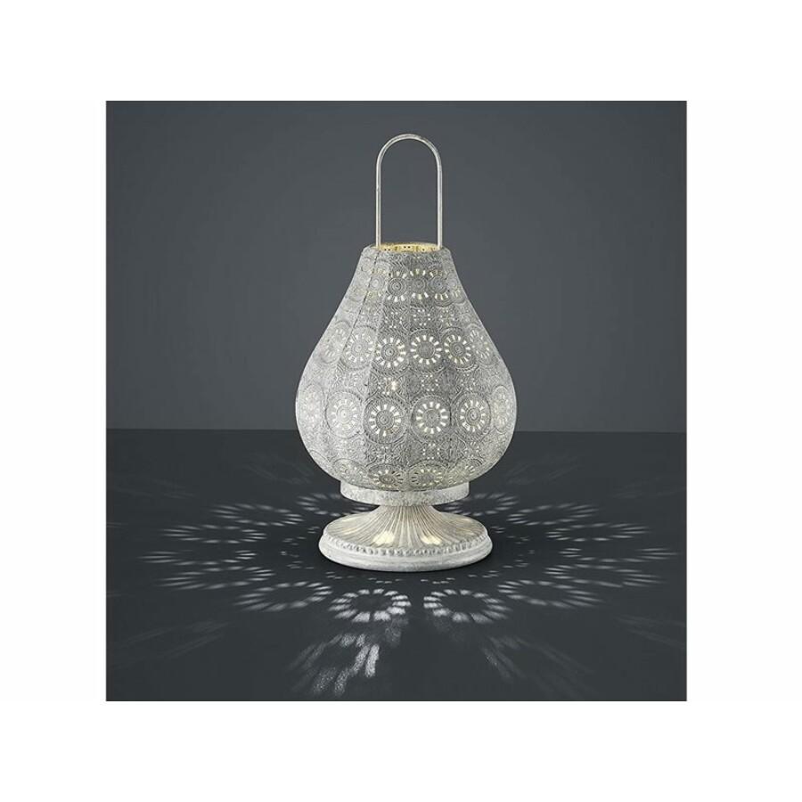 Jázmin marokkói asztali lámpa fehér színű