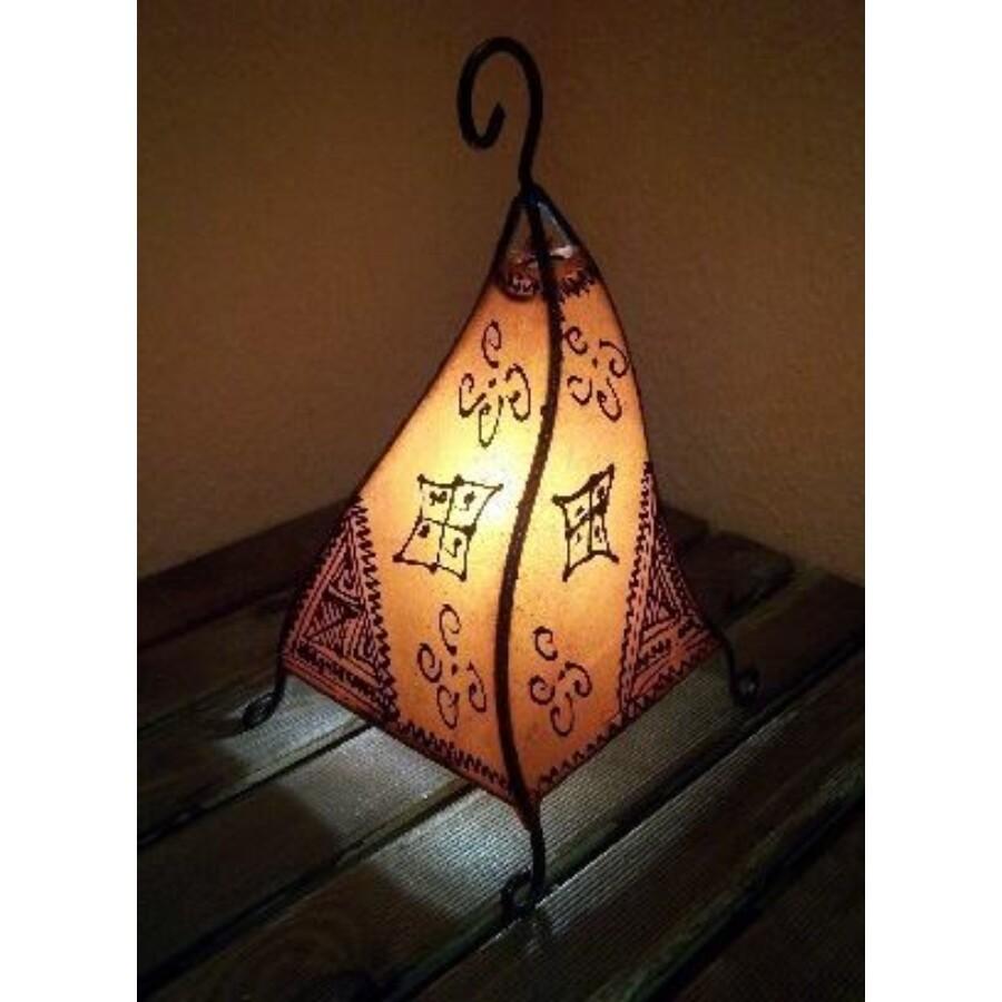 Marrakesh henna állólámpa narancs 50 cm
