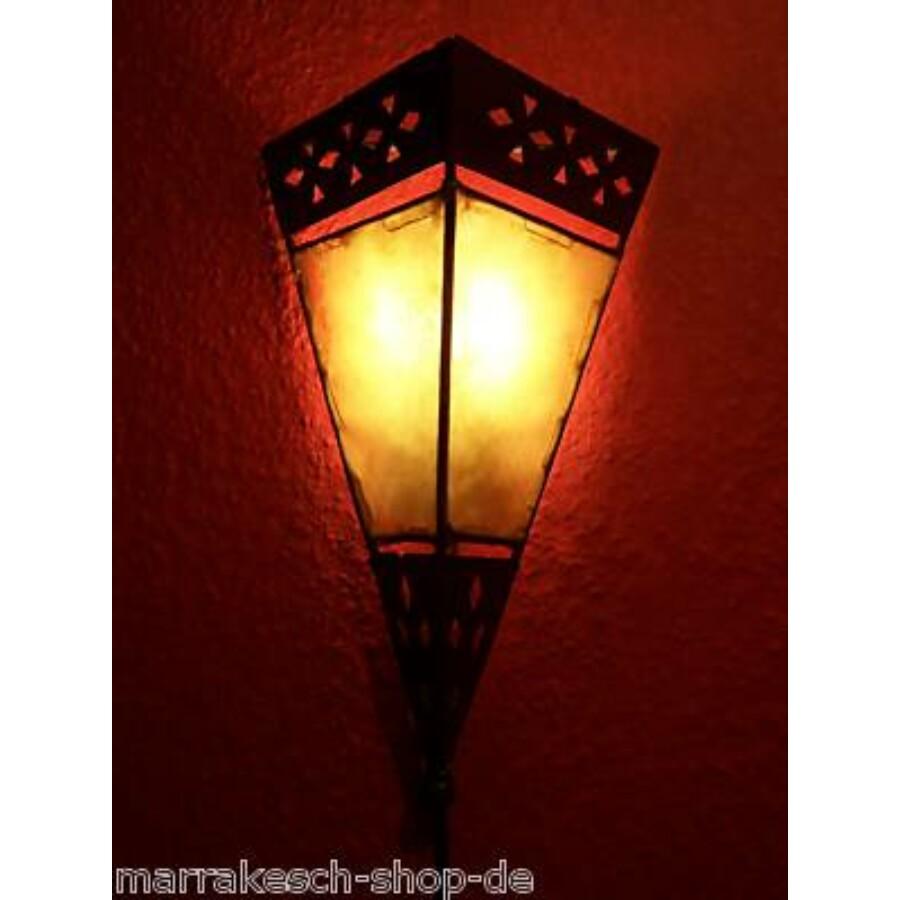 Rabat fali henna lámpa narancssárga