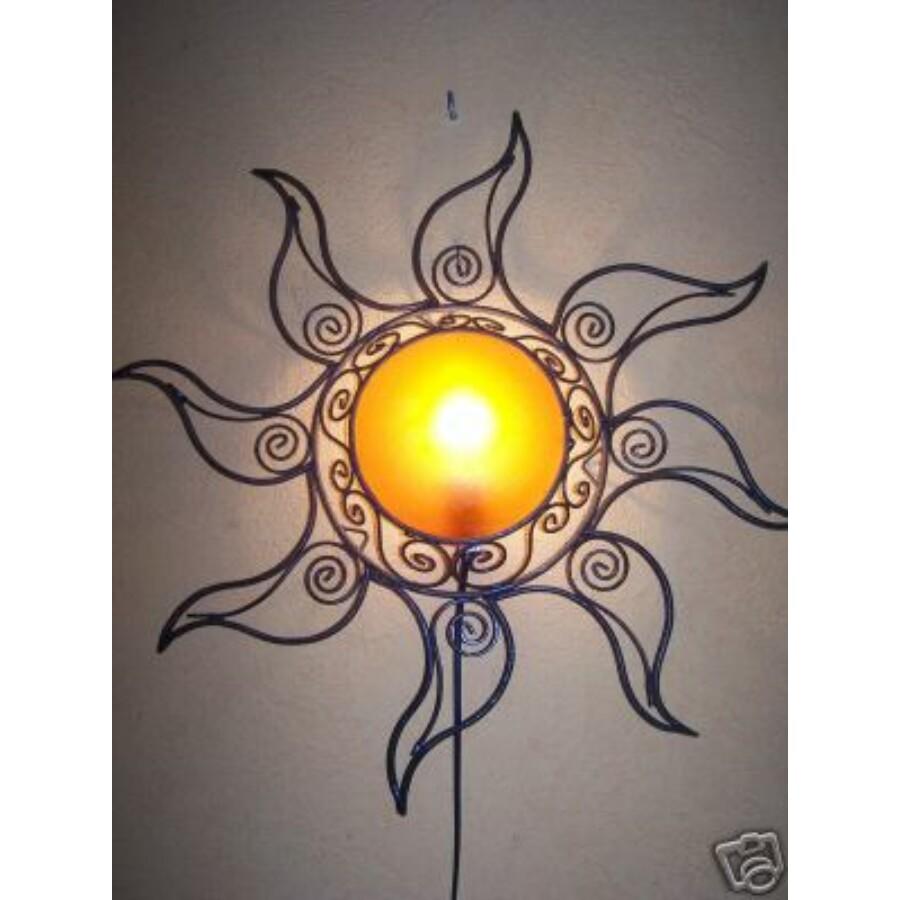 Sonne marokkói fali lámpa narancssárga