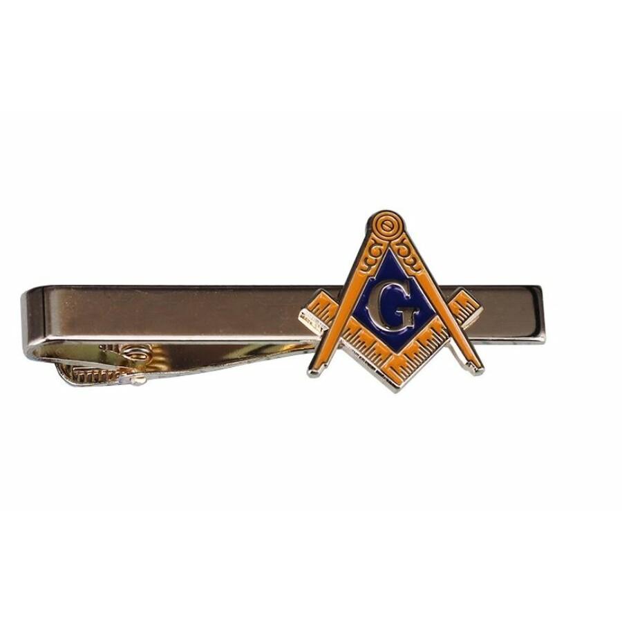Szabadkőműves szimbólummal ellátott nyakkendő tű