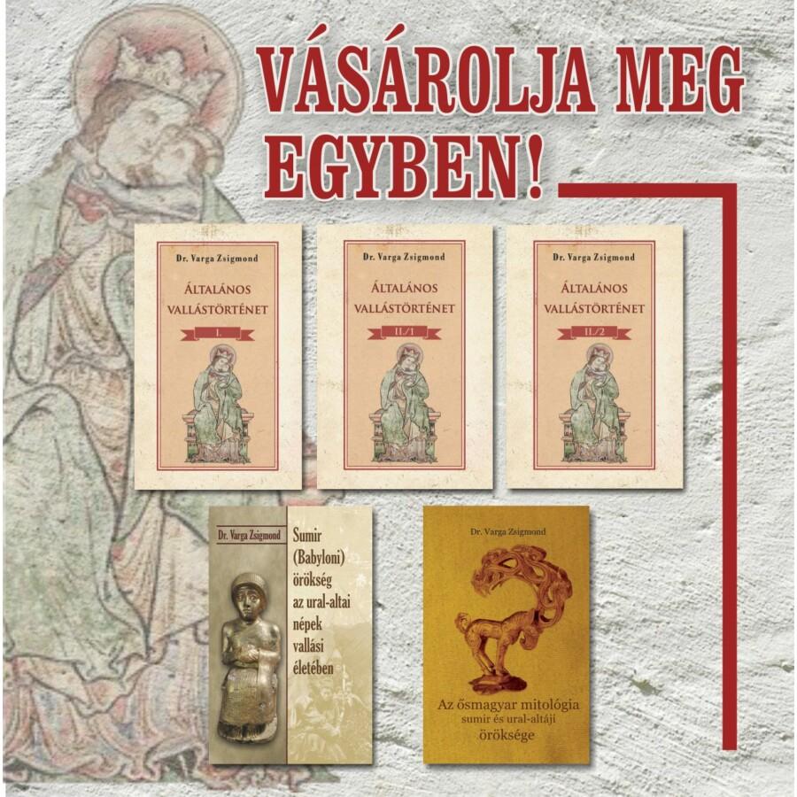Dr. Varga Zsigmond könyvei egyben