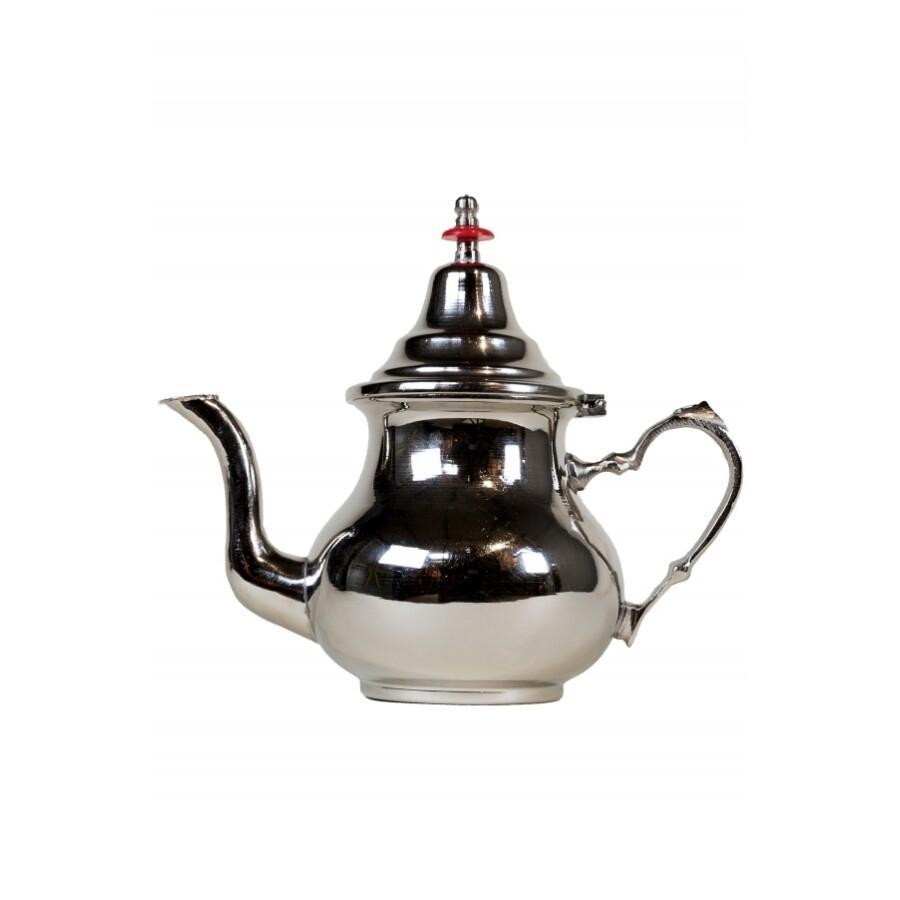Egyszerű marokkói teakiöntő ezüst 800 ml