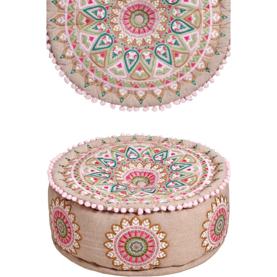 Badra textil puff / ülőpárna