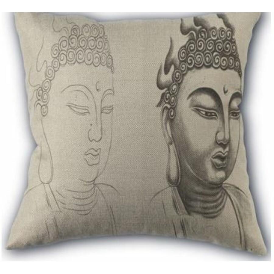 Buddha Mintás díszpárnahuzat