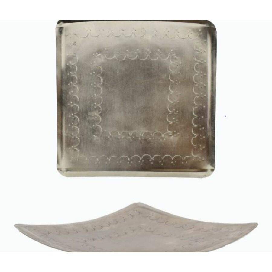 Jaini marokkói fém tálca