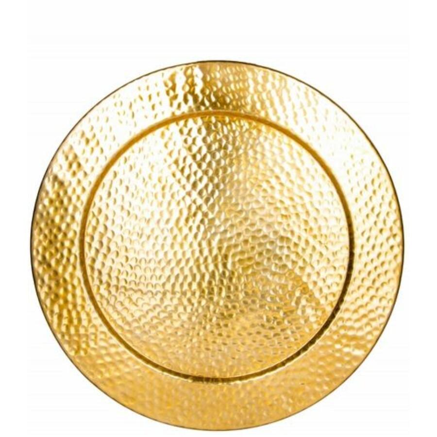 Nizza marokkói fali tálca arany szinű 60