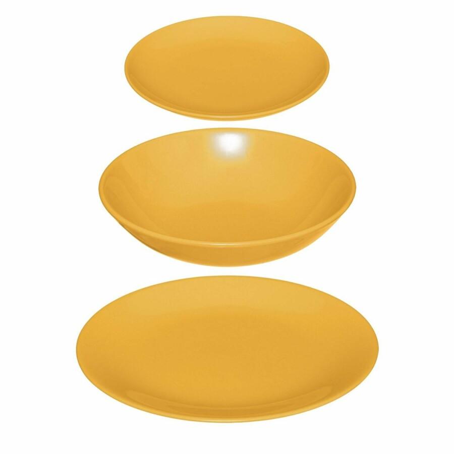 COLORAMA edénykészlet sárga