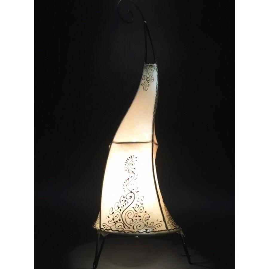Daya marokkói henna állólámpa natúr 70 cm