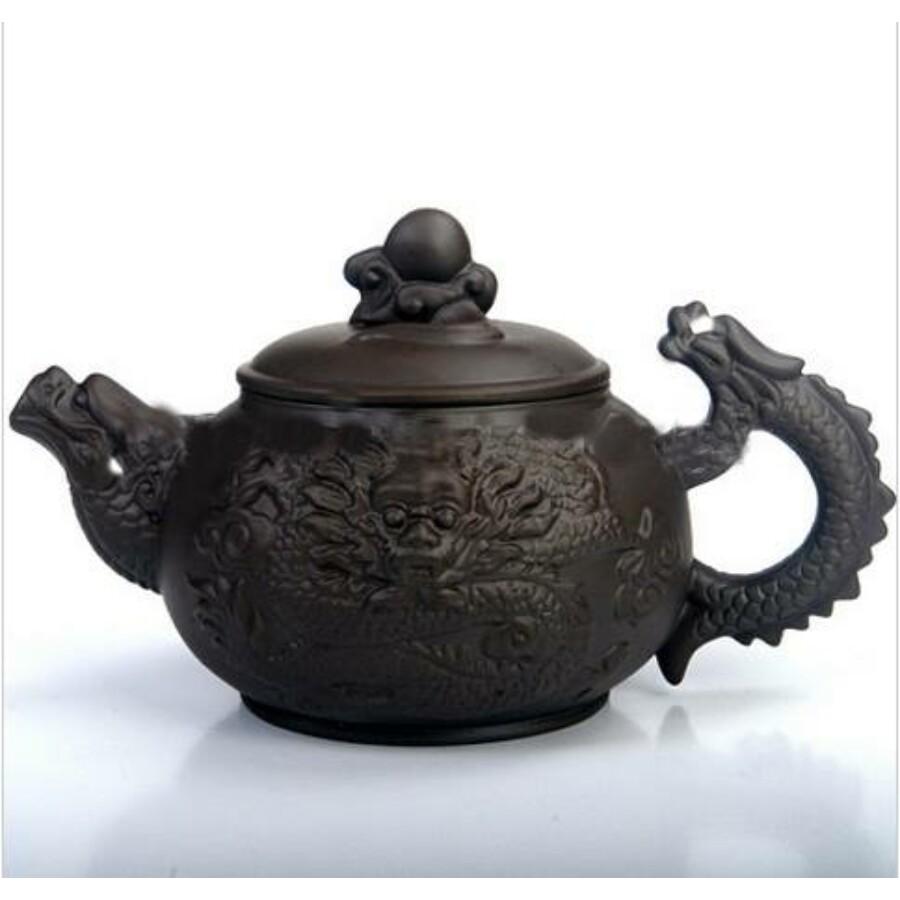 Sárkányos yixing teáskanna