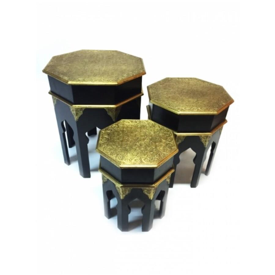 Huwaidah 3 részes keleti teázó asztal szett