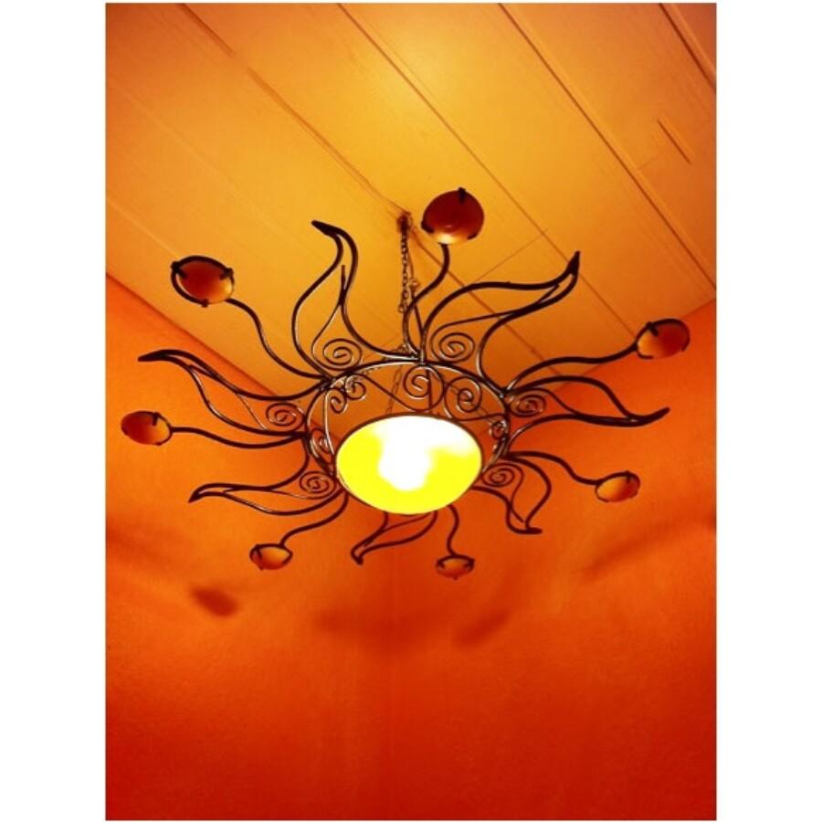 Soleil marokkói mennyezeti lámpa