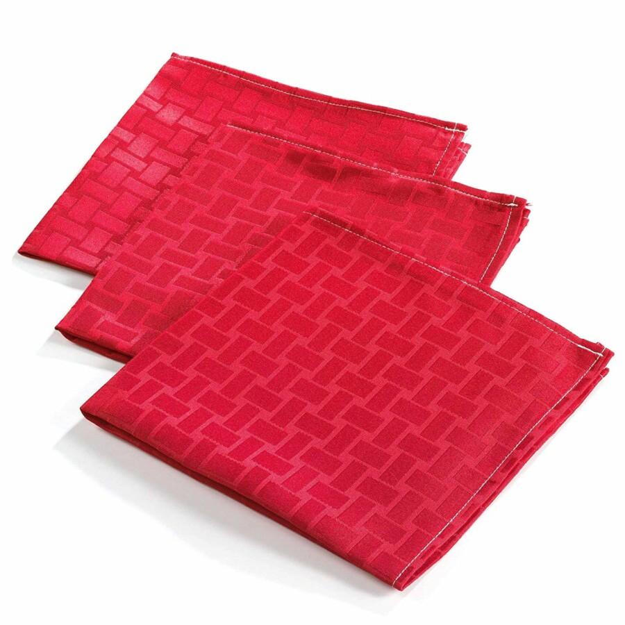 Textil szalvéta piros